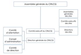 Organigramme du CRILCQ